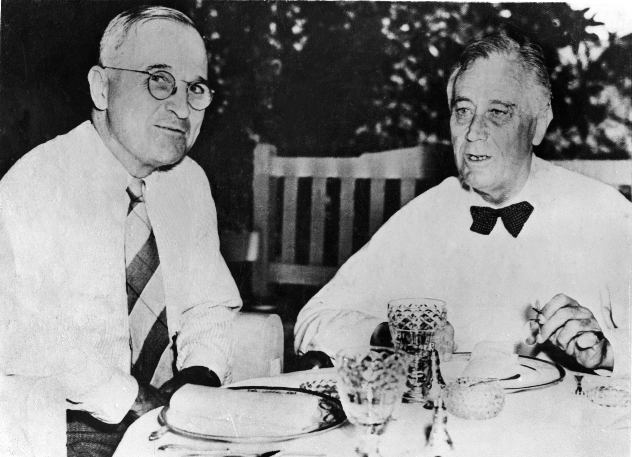 President Roosevelt and Truman