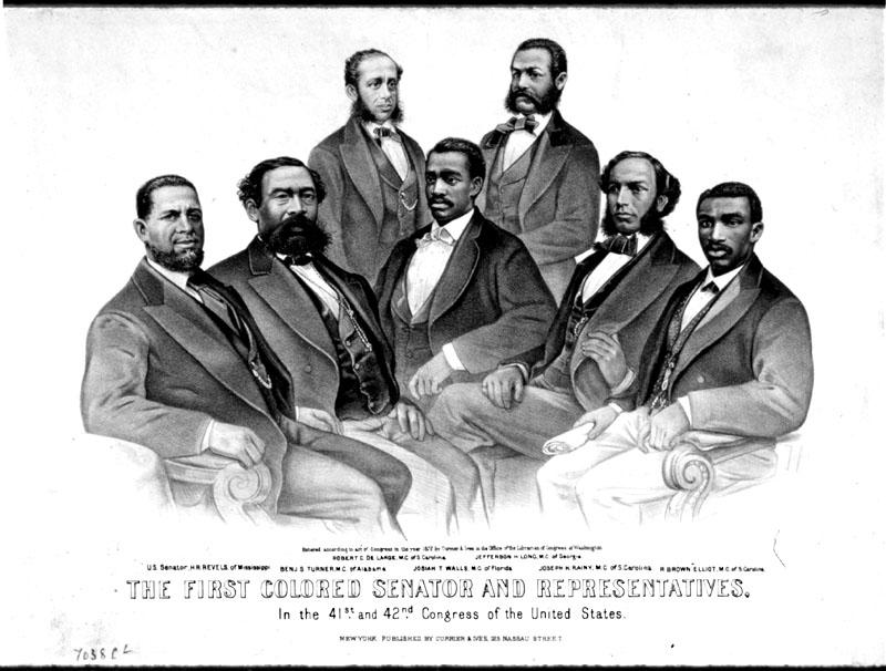 First African American Senators and Representatives in Congress