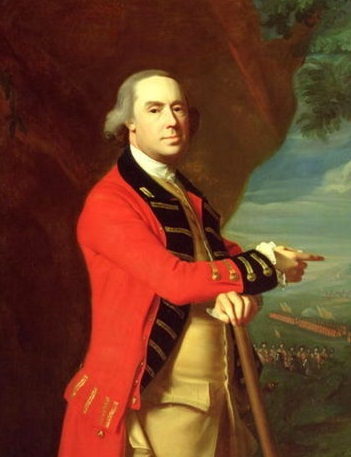 General Thomas Gage by John Singleton Copley