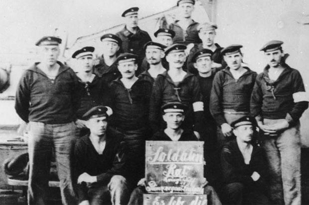 German Naval Mutiny