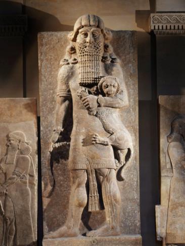 Photo of a Statue of Gilgamesh