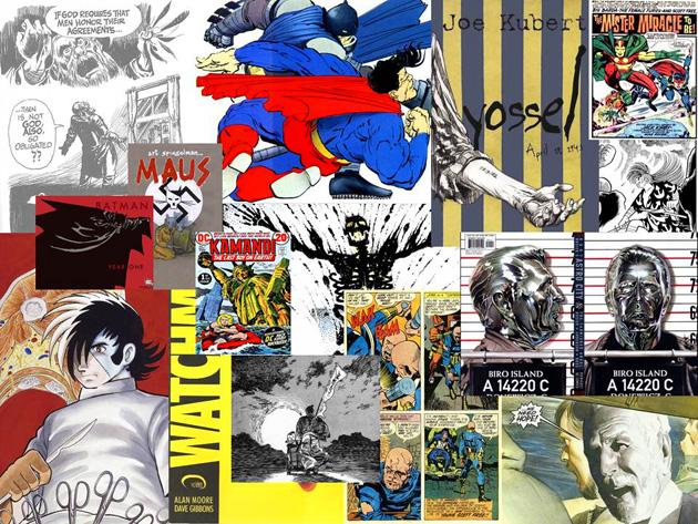 Graphic Novels Exhibit
