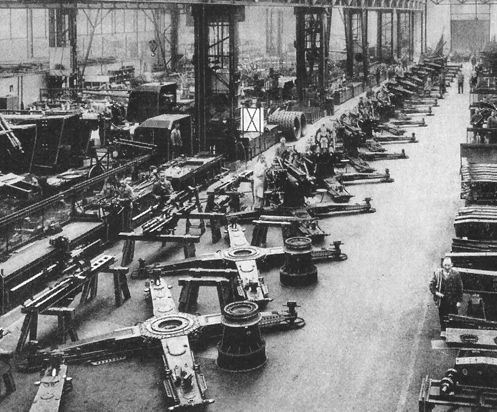 Artillery Production in the 1930s
