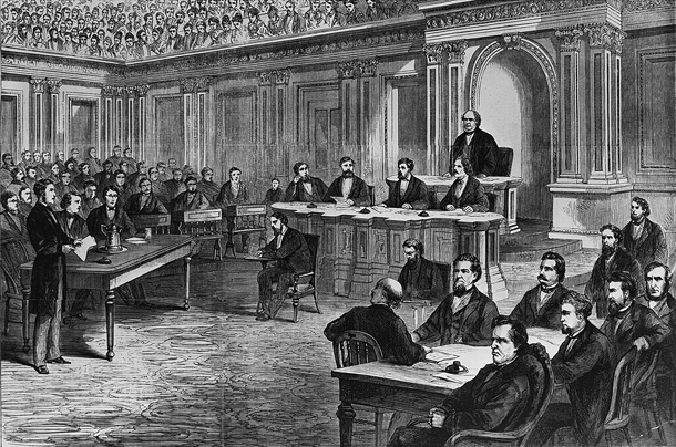 Impeachment of Andrew Johnson by the Senate 1866