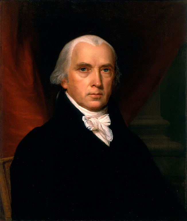 James Madison by John Vanderlyn