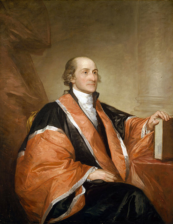 John Jay by Gilbert Stuart