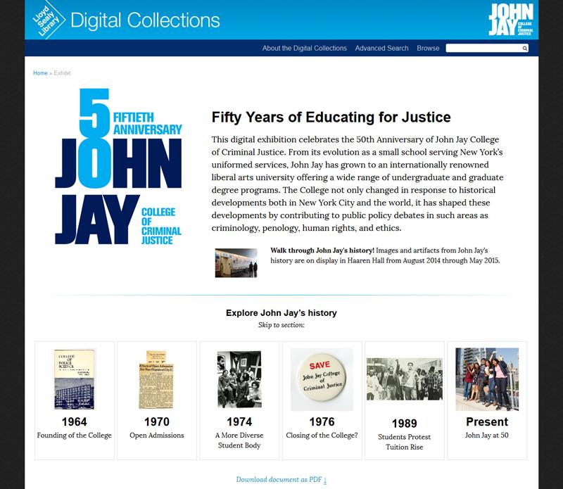 John Jay at 50!