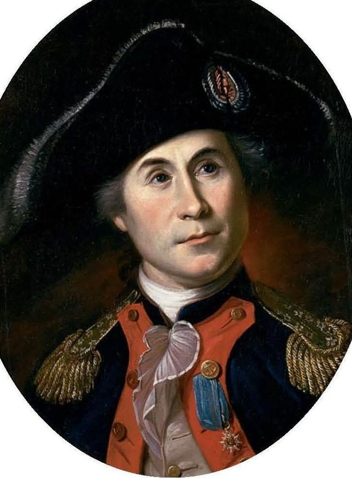 John Paul Jones by Charles Willson Peale