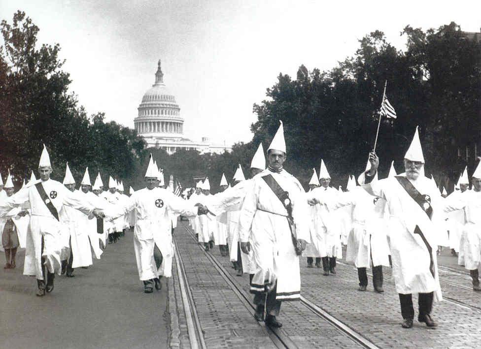Ku Klux Klan March in Washington D.C. 1925