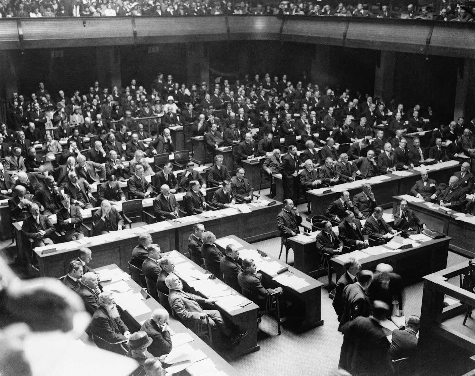 The Conference of the League of Nations in Geneva Switzerland 1924