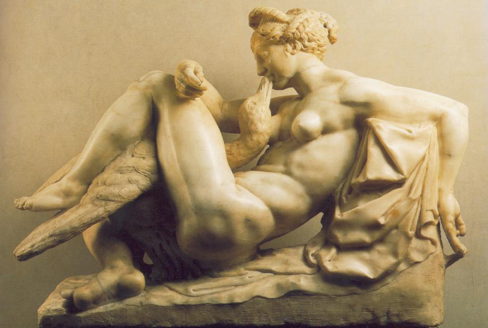Leda and the Swan by Bartolomeo Ammannati