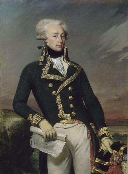 Marquis De Lafayette by Joseph-Désiré Court
