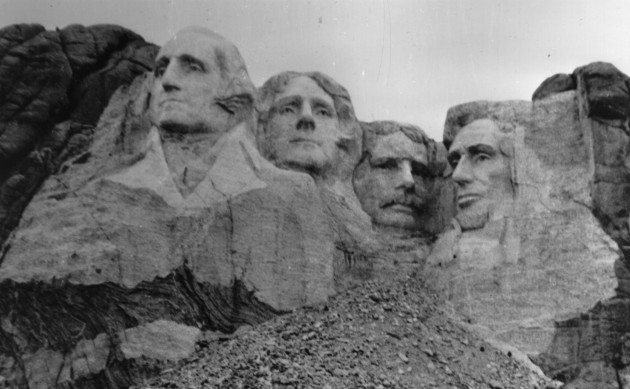 Mount Rushmore (Dedicated in 1933)