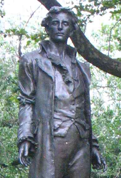 Nathan Hale by Frederick MacMonnies
