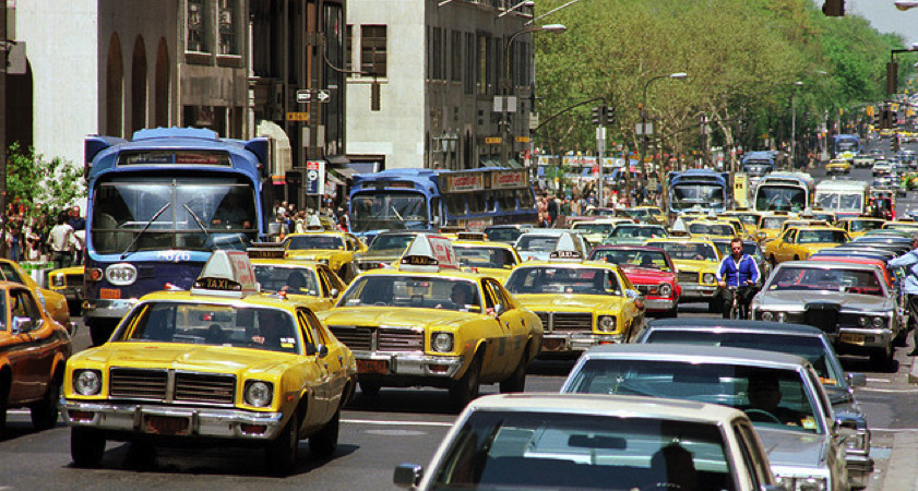 NYC Traffic in the 1970s
