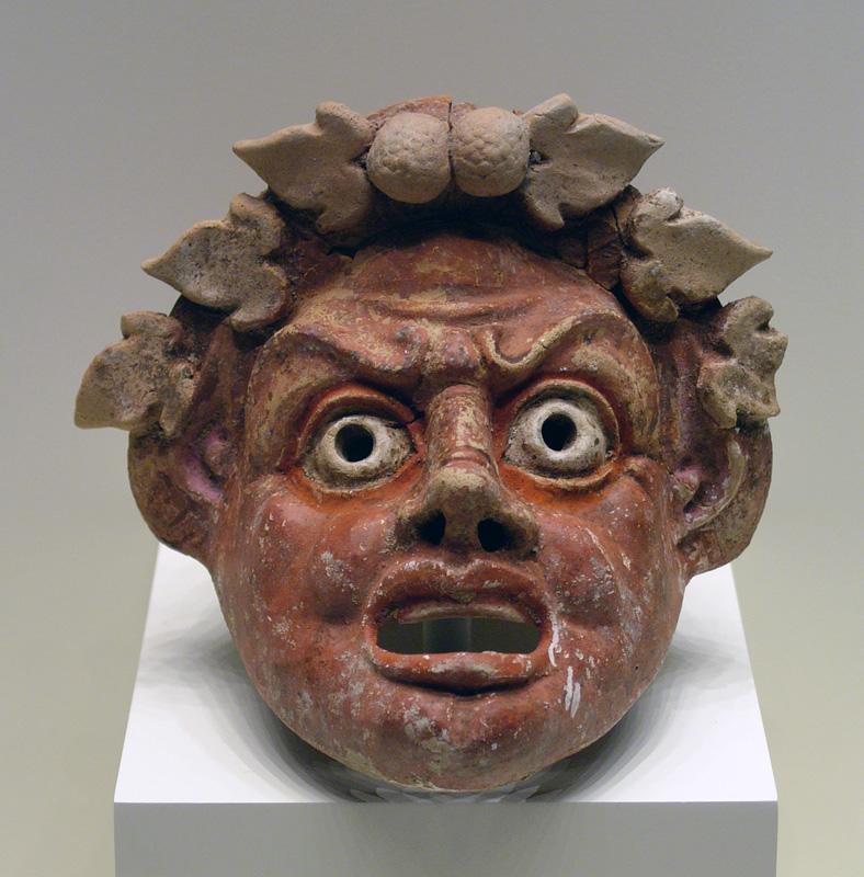 Roman Theatre Mask
