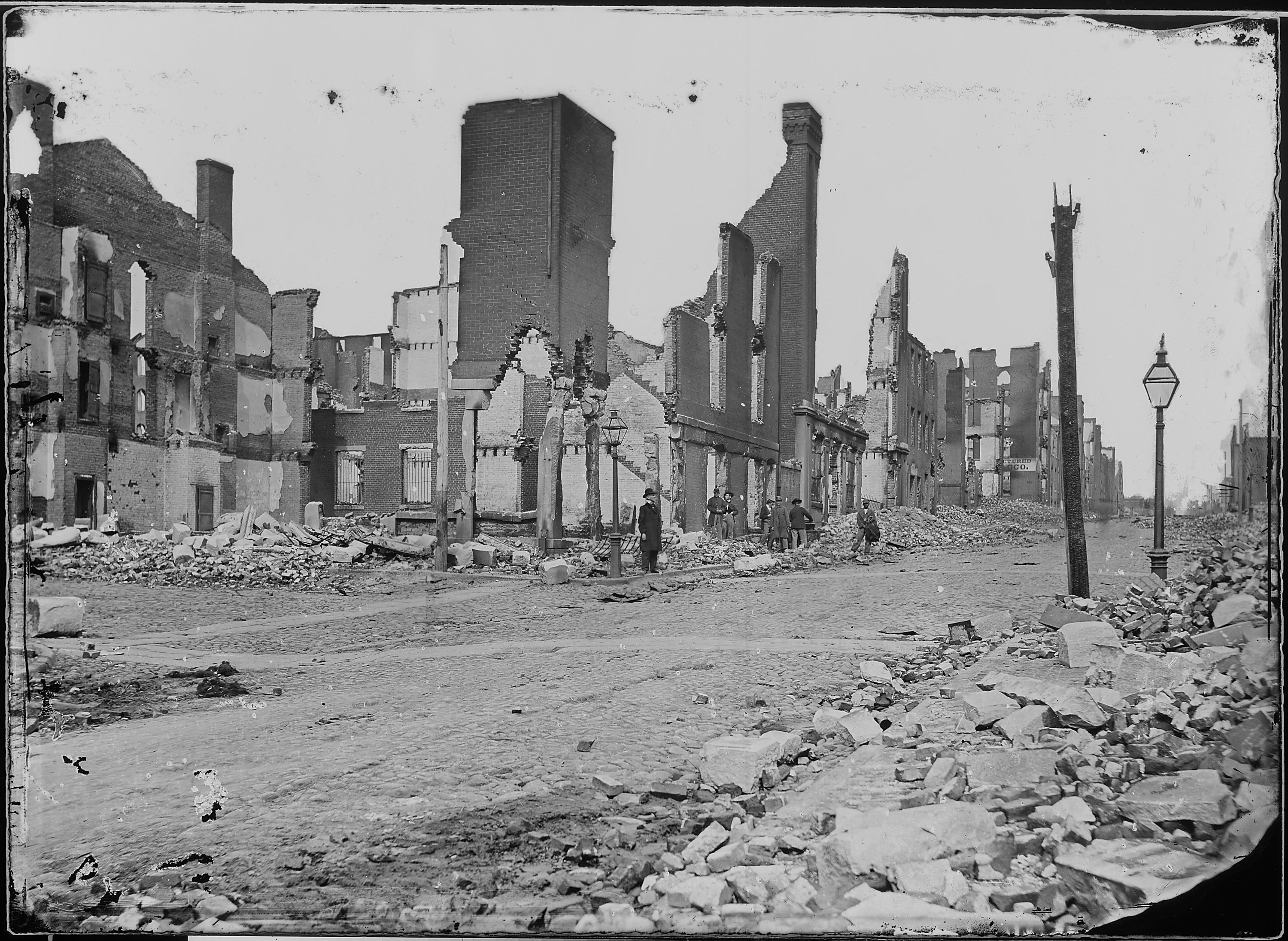 Ruins of Richmond Virginia 1865