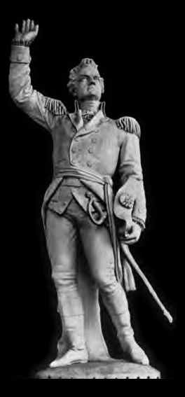 Sculpture of Ethan Allen by Larkin Goldsmith Mead
