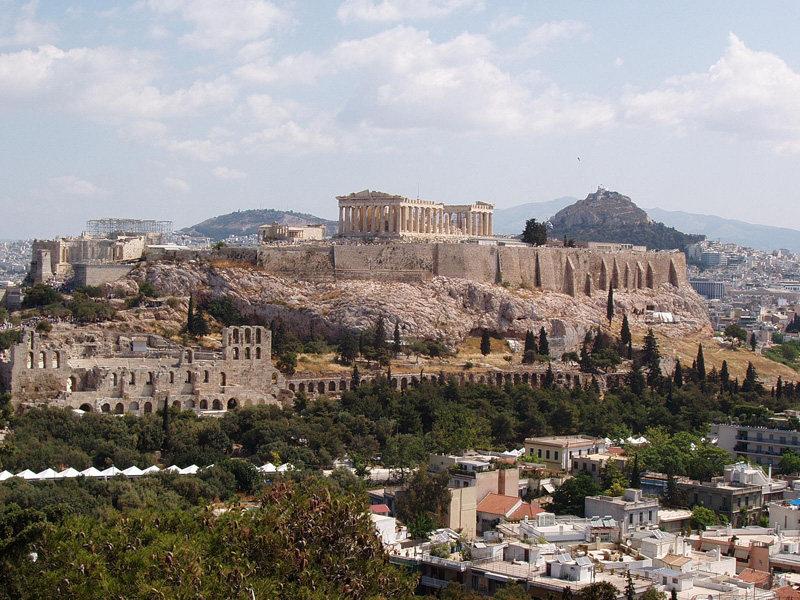 Photo of the Acropolis in Athens