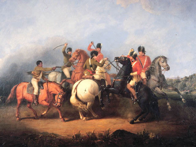 The Battle of Cowpens by William Ranney