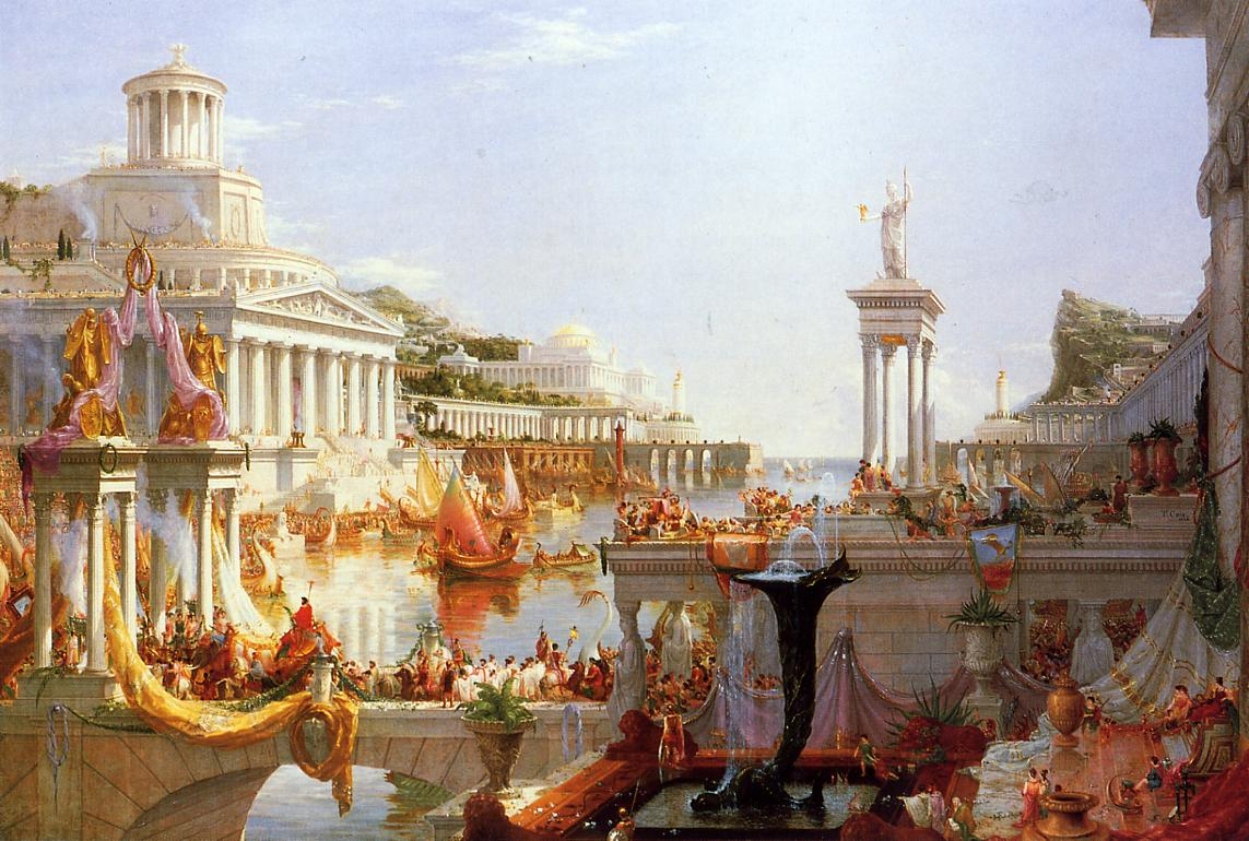 The Course of Empire - Consumation by Thomas Cole