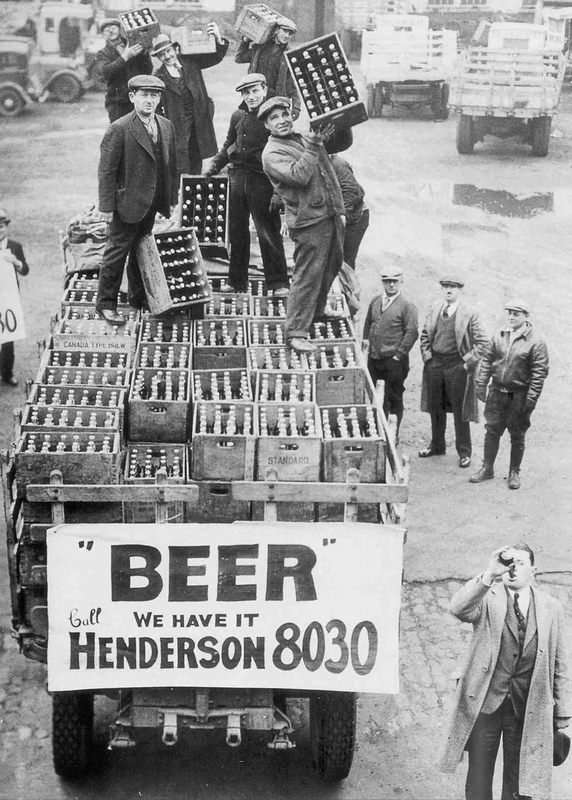 The End of Prohibition in Cleveland Ohio 1933