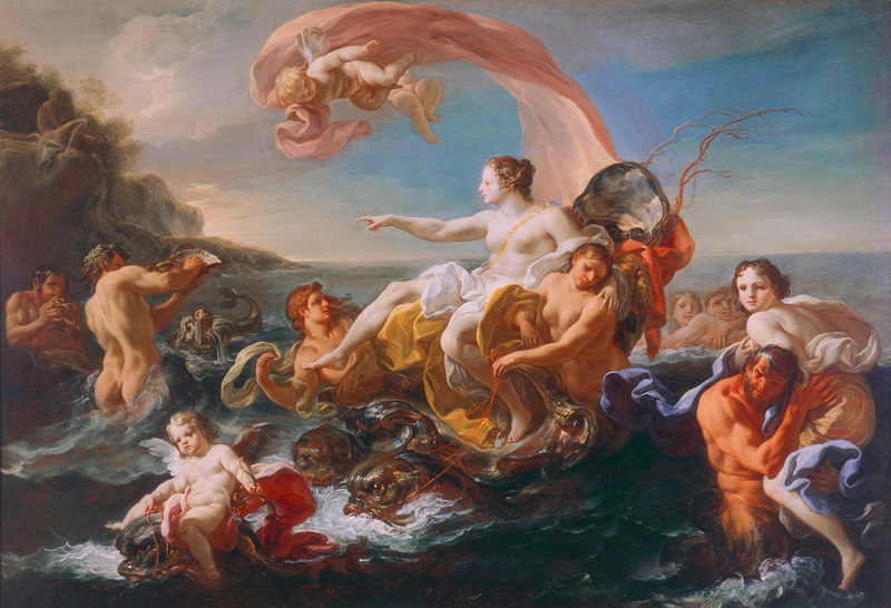 The Triumph of Galatea by Corrado Giaquinto