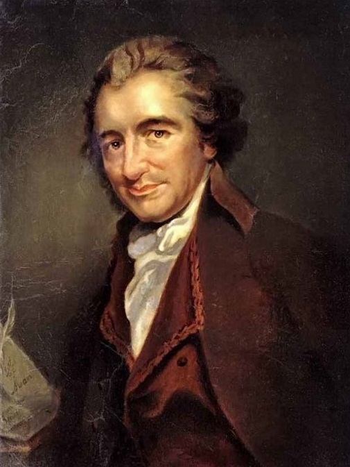 Thomas Paine by Auguste Millière