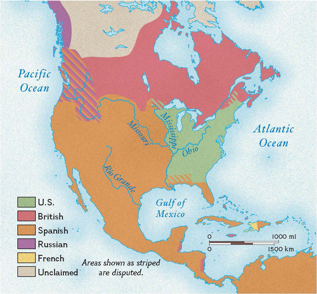 The United States in 1783