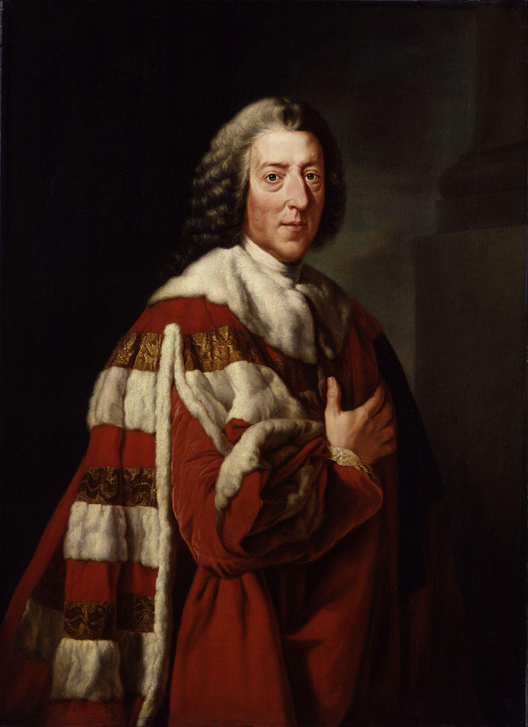 William Pitt 1st Earl of Chatham by Richard Brompton