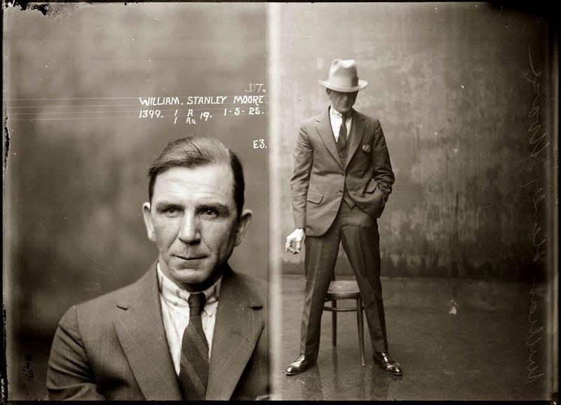 William Stanley Moore, Opium Dealer, Mugshot May 1, 1925