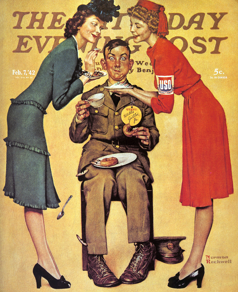 Willie Gillis at the U.S.O. The Saturday Evening Post
