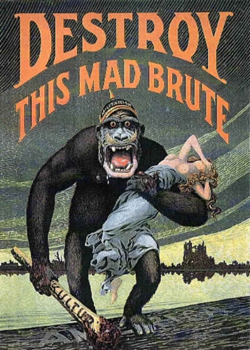 Destroy this Mad Brute! Poster