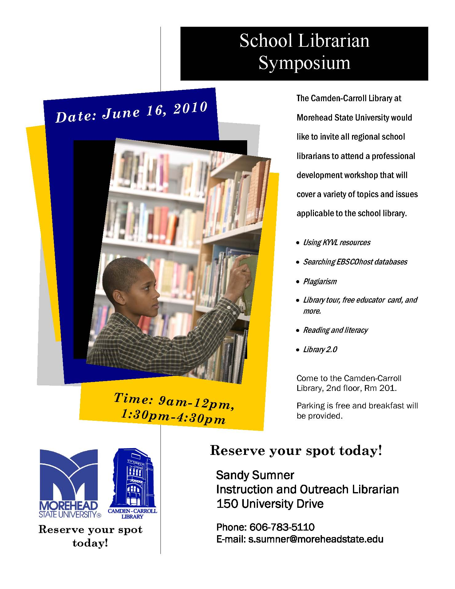 School Librarian Symposium