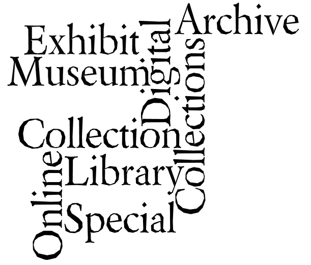 terminology for digital collections