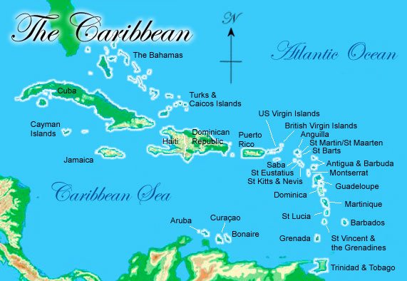 Image of the Caribbean