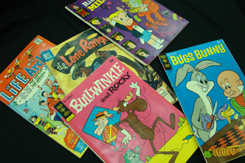 group of non-superhero comics like Archie, Lone Ranger, Bullwinkle
