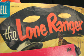 Lone Ranger comic header
