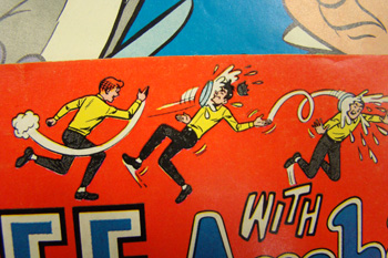 image of header at top of Archie comic