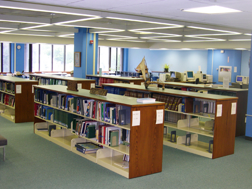 Hawaiian and Pacific Collection Reading Room