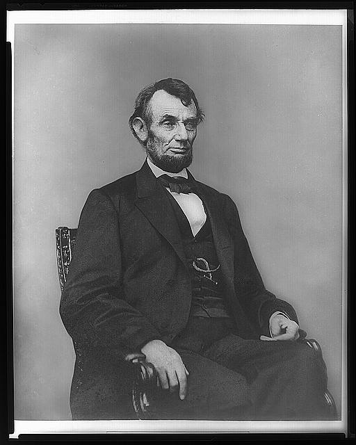 Image of Lincoln from the Library of Congress