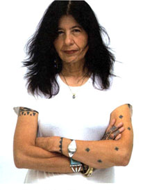 Joy Harjo (Image from Gale Biography Research Center)