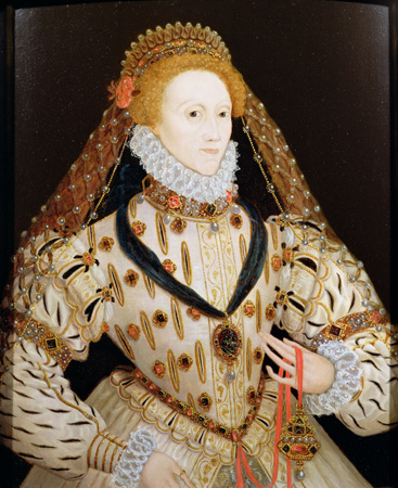 Portrait of Elizabeth I of England c. 1600 (Image from Gale)