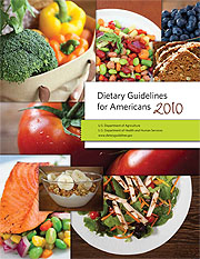 Dietary guides for Americans 2010 screen shot
