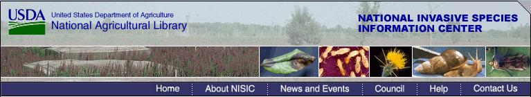 National Invasive Species Informatino Center banner