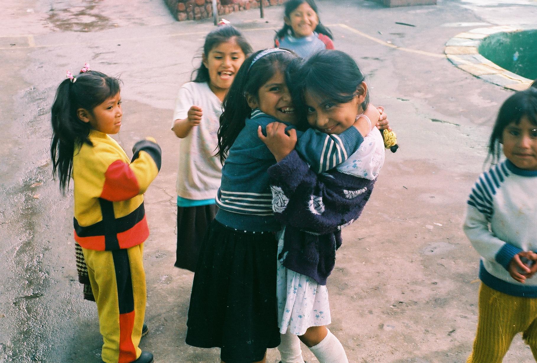 Children in San Pedro Prison, La Paz, Bolivia, 2001