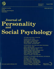 The text-only cover of the Journal of Personality to show that scholarly journal covers do not include images
