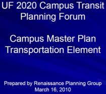 UF Transit 2020
