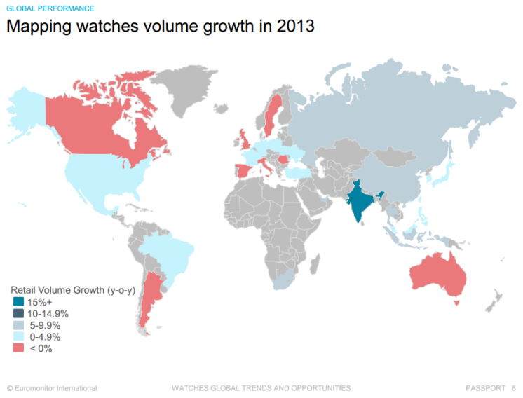 Watches Map