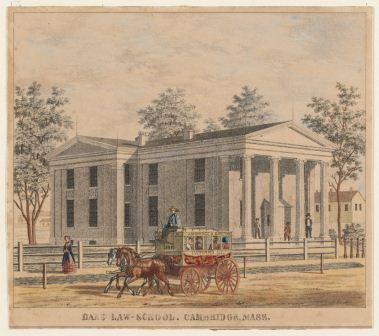 Dane Hall Law School, Cambridge Mass. c. 1850